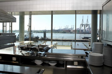 Hamburg Eventlocation  Elbblick-Kantine image 3