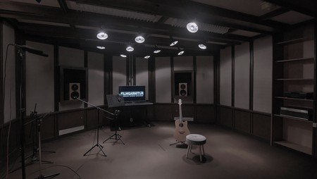 Berlin  Tonstudio Filmgarnitur image 0